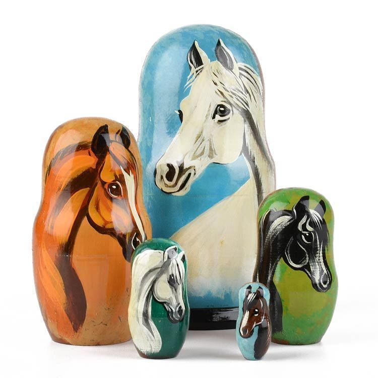 Horses Stacking Doll