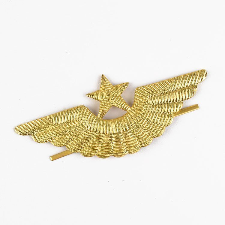 Pilot Star & Wings Pin