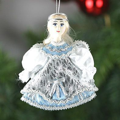 Christmas Blue Angel Doll