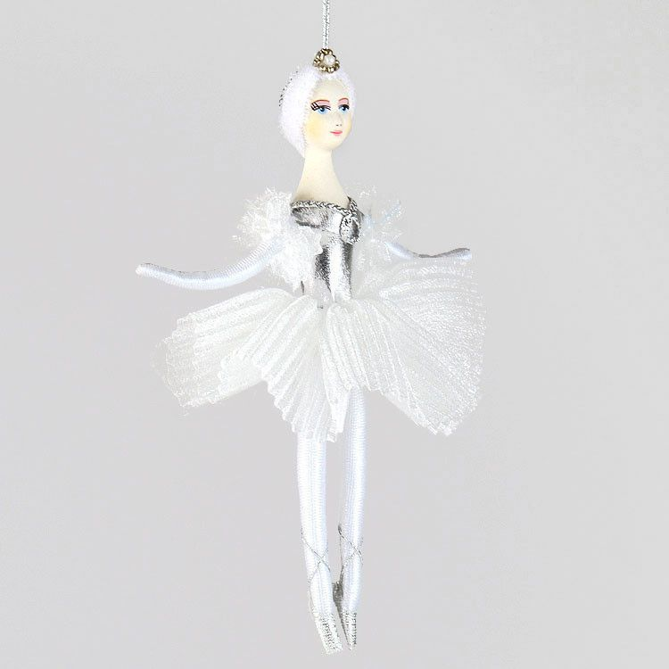 Swan Lake Ballerina Doll Ornament