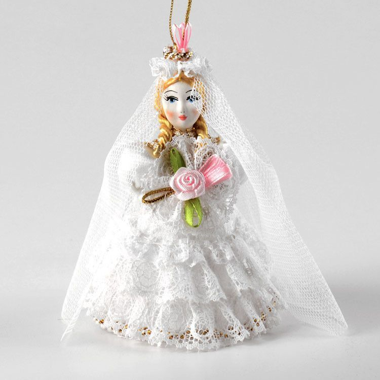 Beautiful Bride Ornament Doll