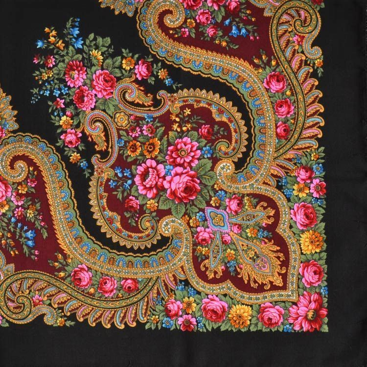Blossoming Flower Shawl