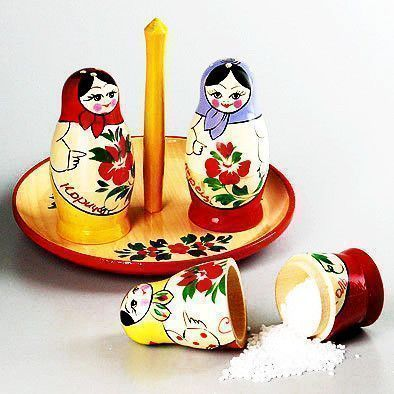 Matryoshka Salt & Pepper Shaker Set