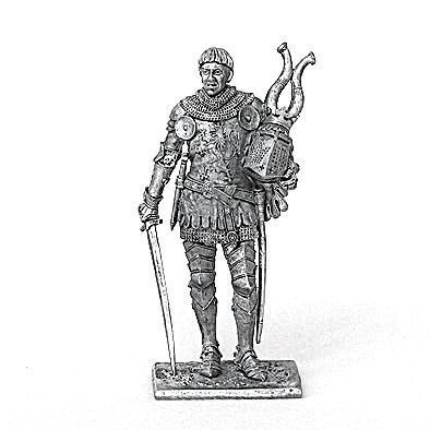 Western-European Tin Soldier Knight