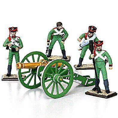Russian Artillerymen Tin Soldiers Set