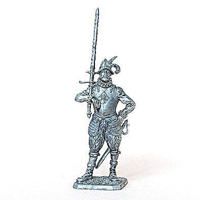 16th Century European Tin Soldier