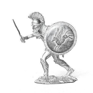 Roman Gladiator Tin Soldier Figurine