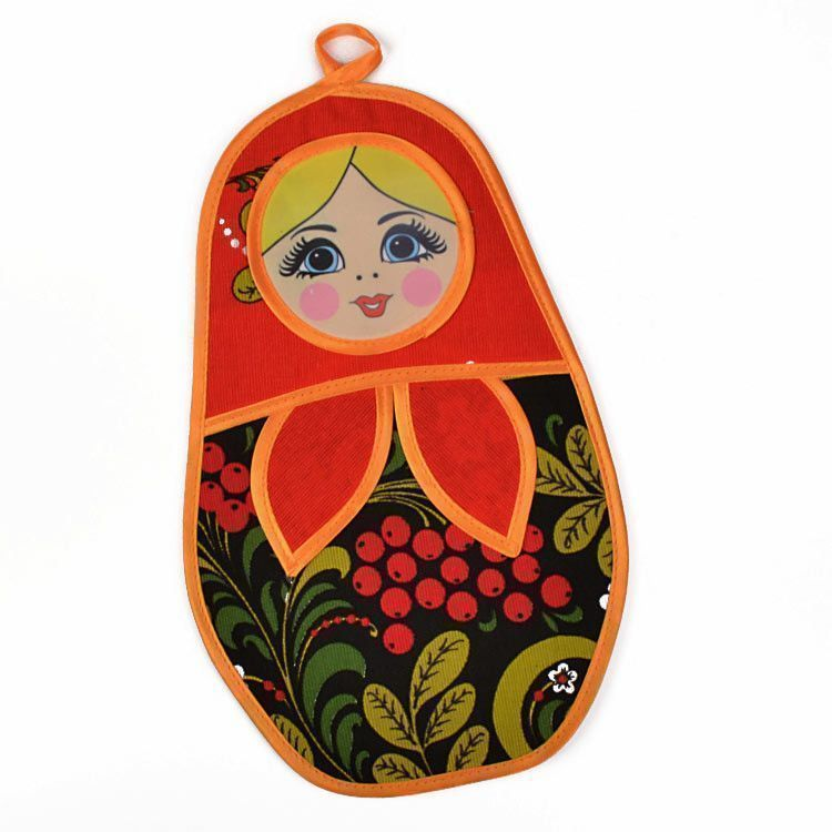Russian Matryoshka Pot Holder