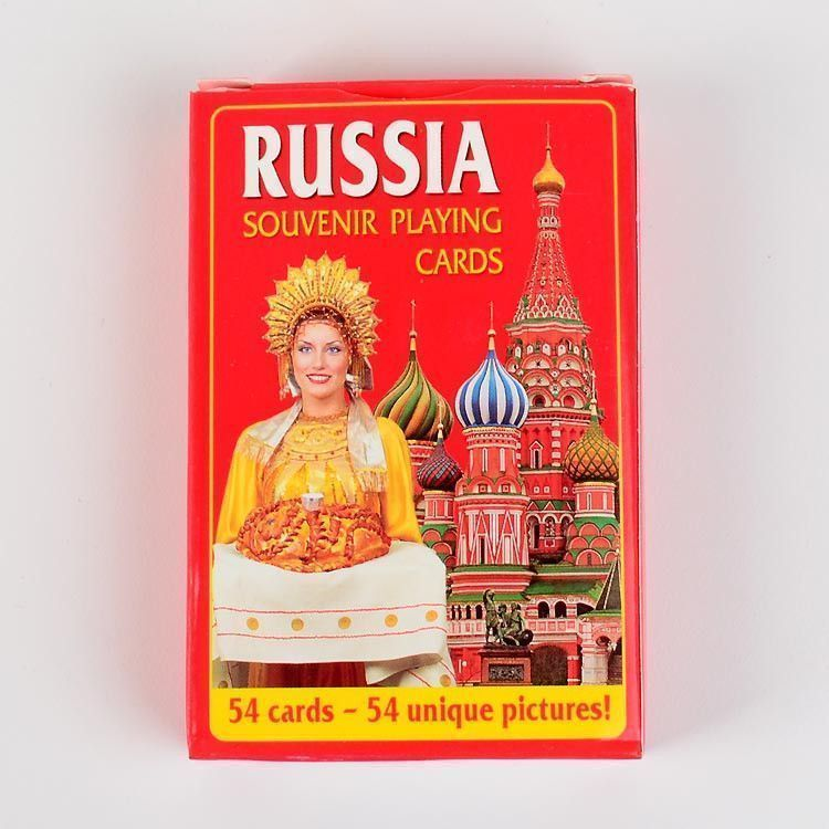 Deck of Russia Playing Cards