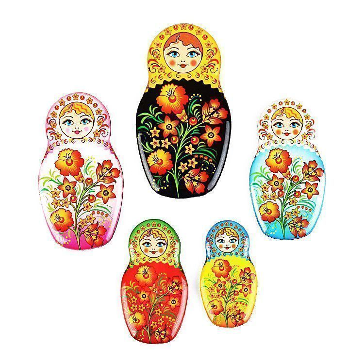 5pc Matryoshka Magnets