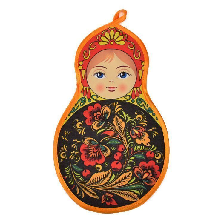 Russian Doll Shaped Pot Holder