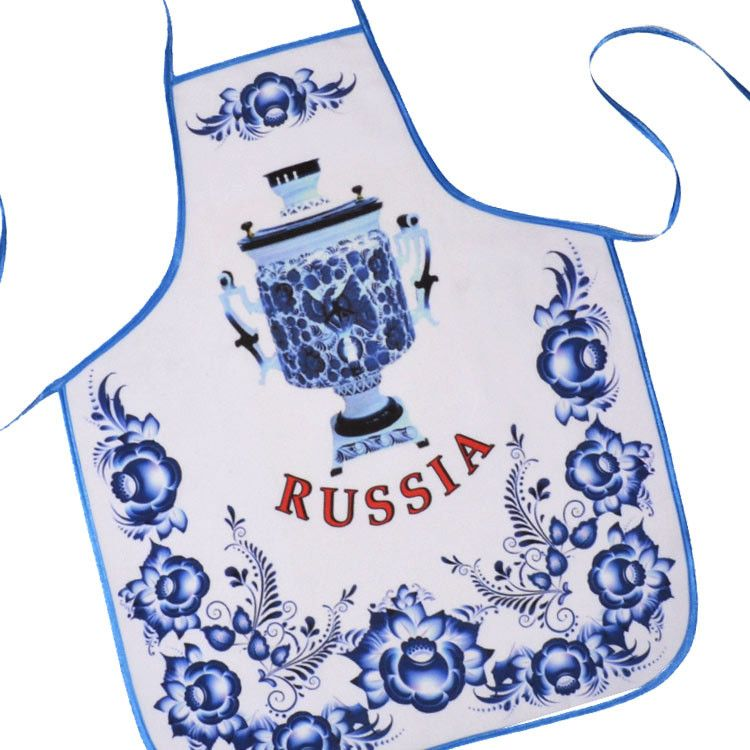 Blue Kitchen Apron - Samovar