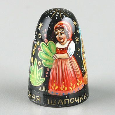 Tale Of Little Red Riding Hood Thimble