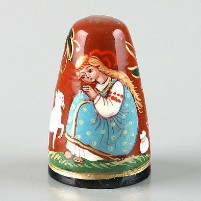 Bewitched Ivanushka Russian Fairytale Thimble