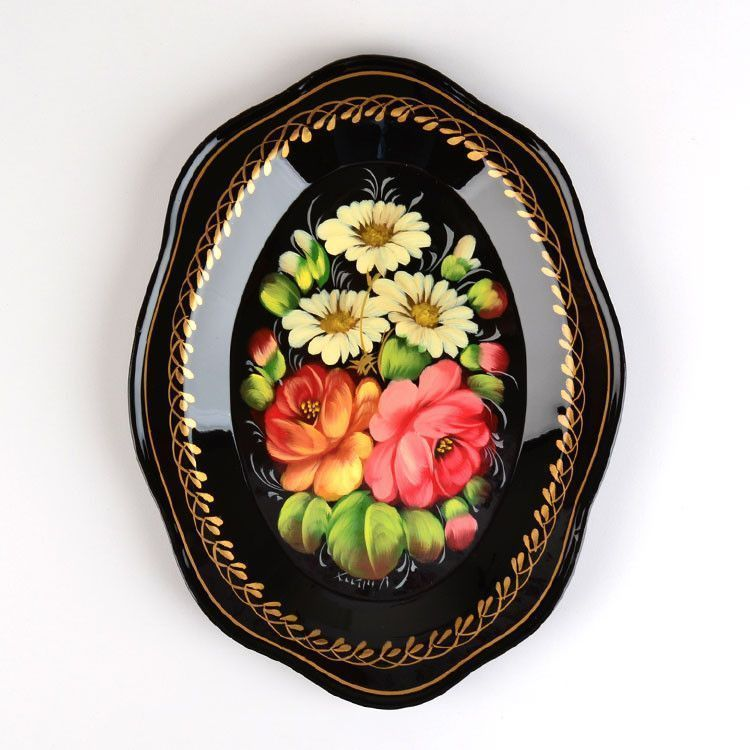 Hand Painted Russian Tray