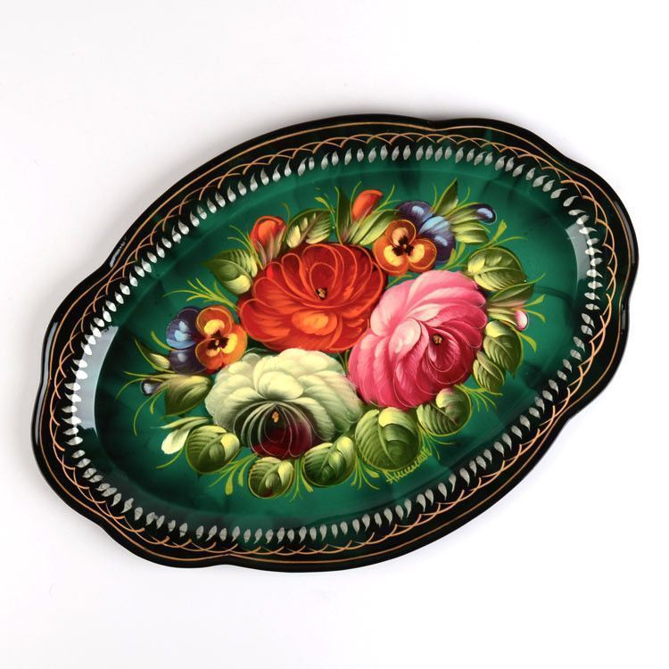 Russian Decorative Platter