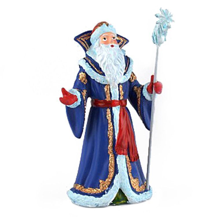 Ceramic Ded Moroz - Blue Coat