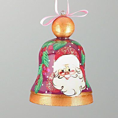 Jolly Santa Christmas Bell
