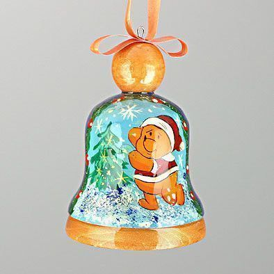 Christmas Bell Winnie-The-Pooh