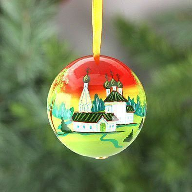 Russian Church X-Mas Tree Ball