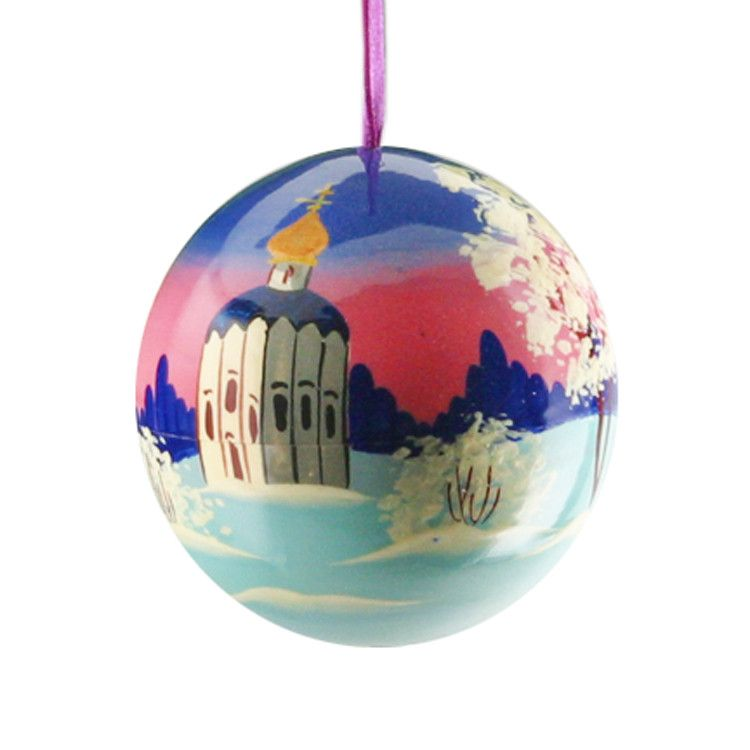 Russian Church Ball X-Mas Ornament