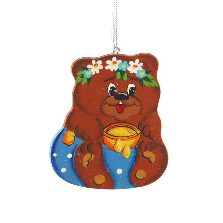 Honey Bear Tree Ornament