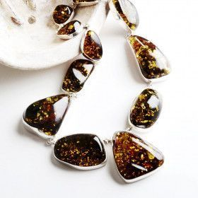 Majestic Baltic Amber Necklace