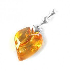 Valentine's Honey Heart Pendant