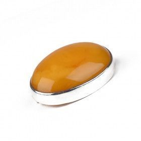 Vintage Butterscotch Amber Brooch