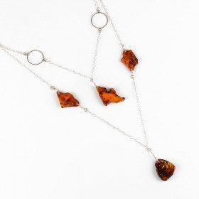 Designed Amber Necklace
