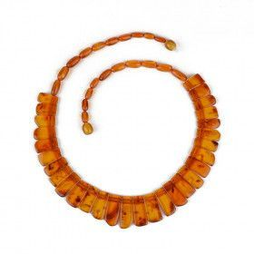 Genuine Baltic Amber Collar Necklace