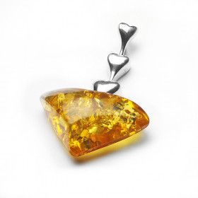 Beautiful Honey Amber Pendant