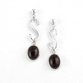 Cherry Amber Drop Earrings