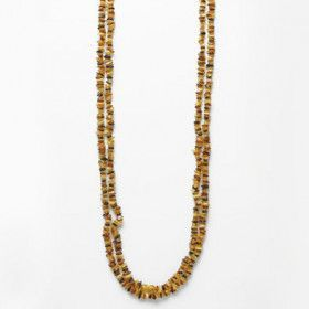Two Yards of Multi-colored Amber Necklace