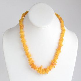 Butterscotch Amber Chips Necklace