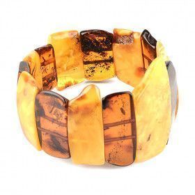 Regal Amber Stretch Bracelet
