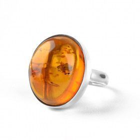 Boldly Beautiful Amber Ring