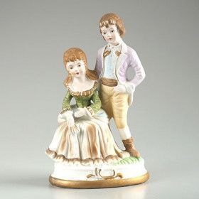 Young Couple Figurine