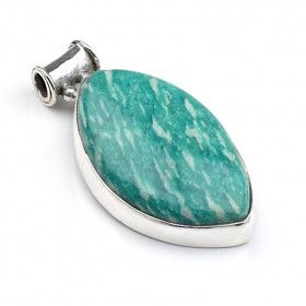 Bright Amazonite Pendant - Slider