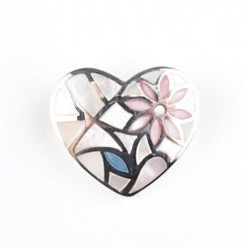 Mother of Pearl Inlay Heart