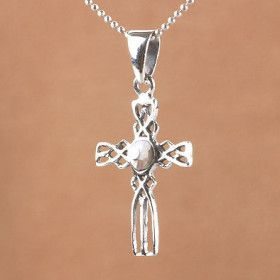 Abalone Cross Pendant