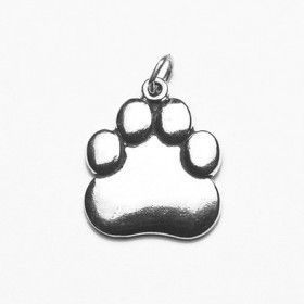 Paw Print Sterling Silver Pendant