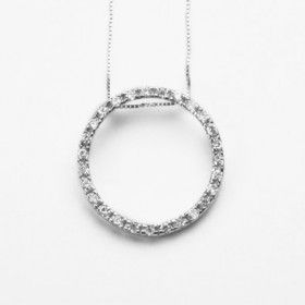 Circle of Crystals Necklace