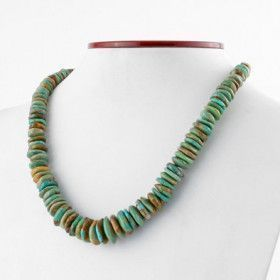 Green Turquoise Natural Necklace