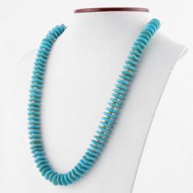 Turquoise and Spiny Oyster Shell Necklace