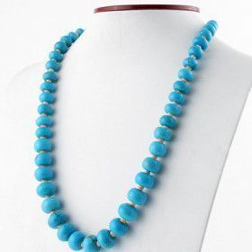 Santa Fe - Arizona Turquoise and Shell Necklace