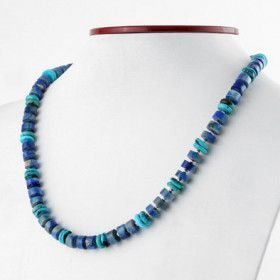 Lapis Lazuli and Turquoise Necklace
