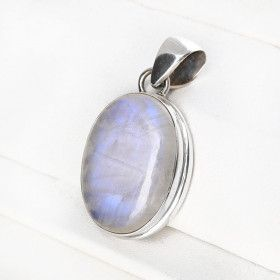 Moonstone in Silver Pendant