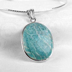 Amazonite Gemstone Pendant