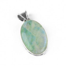 Color Enhanced Moonstone Pendant